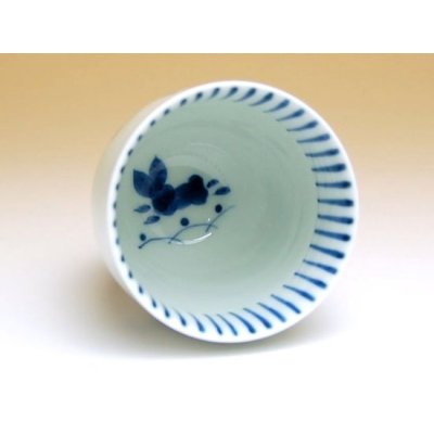Photo2: Mai usagi rabbit (Blue) Japanese green tea cup