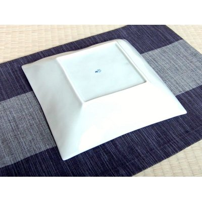 Photo3: Ichimatsu square Large bowl (23cm)