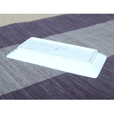Photo3: Ichimatsu Small rectangle plate (15.5cm)