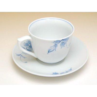 Photo3: Somenishiki tessen Cup and saucer