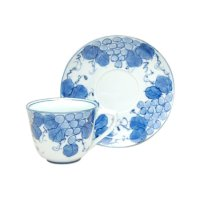 Seika budou grape Cup and saucer