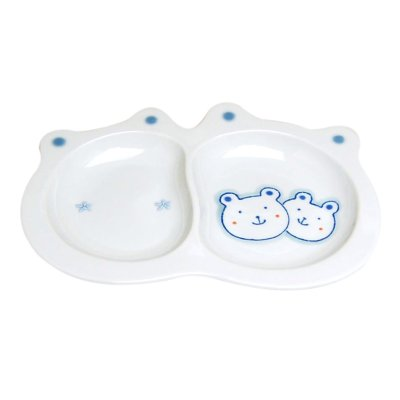 [Made in Japan] <Child tableware>Sukusuku bear Plate