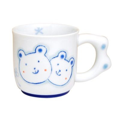 [Made in Japan] <Child tableware>Sukusuku bear Mug