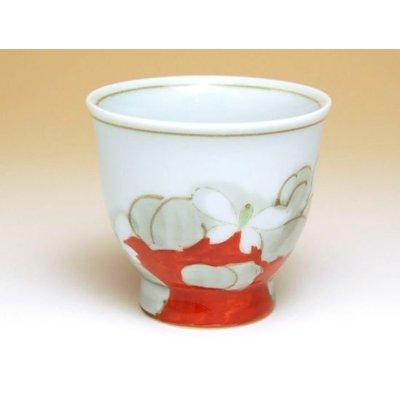 Photo3: Hana gokoro Tea set (5 cups & 1 pot)