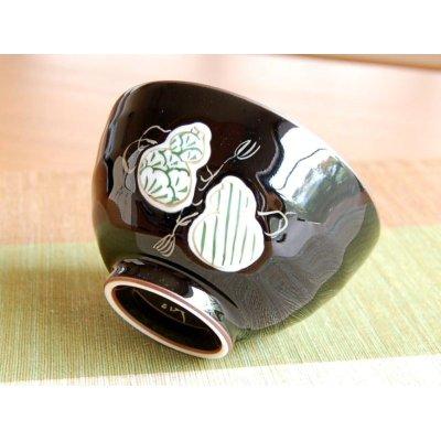 Photo2: Mubyo shikisai (Green) rice bowl