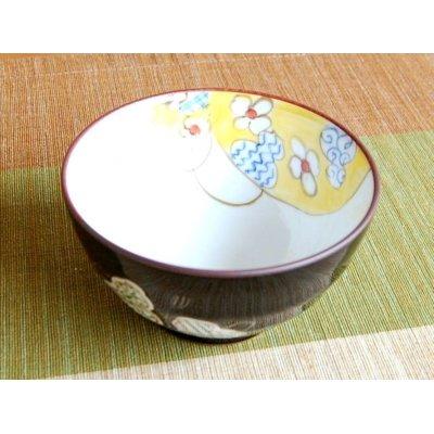 Photo3: Mubyo shikisai (Green) rice bowl