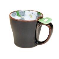 Hana emaki (Green) mug
