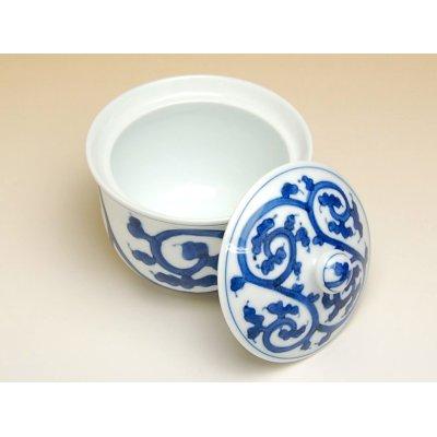 Photo2: Edo karakusa Bowl with the cover