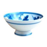 Uchi sansui landscape (Extra large) rice bowl