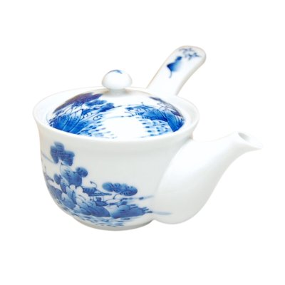 [Made in Japan] Sansui landscape hime Teapot