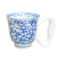 Tansai karakusa big handle mug