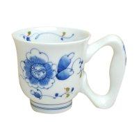 Botan big handle mug