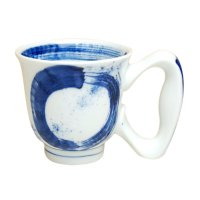 Hake maru big handle mug