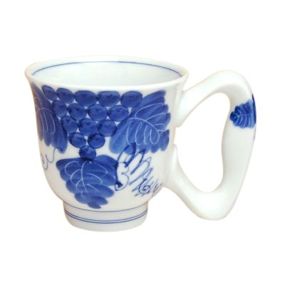 [Made in Japan] Ai bdou big handle mug