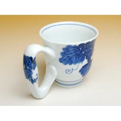 Photo2: Ai bdou big handle mug