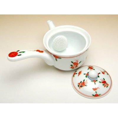 Photo2: Akae manreki hime Teapot
