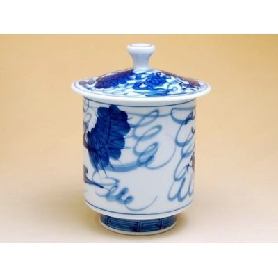 Photo2: Tomi ryu Dragon (Extra large) Japanese green tea cup