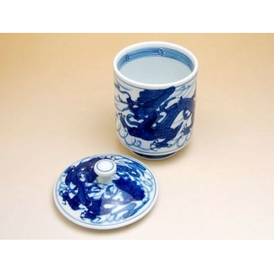 Photo3: Tomi ryu Dragon (Extra large) Japanese green tea cup