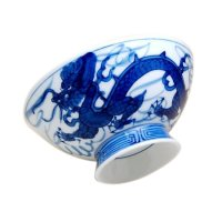 Tomi-ryu Dragon (Large) rice bowl