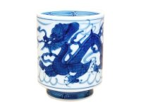 Tomi ryu Dragon (Large) Japanese green tea cup
