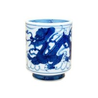 Tomi ryu Dragon (Small) Japanese green tea cup