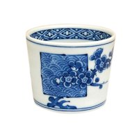 Seikainami ume Cup for soba soup (7.8cm)