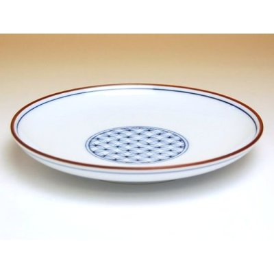 Photo2: Sippou-mon Medium plate (15.3cm)