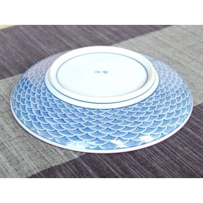 Photo4: Seikainami Medium plate (15.2cm)