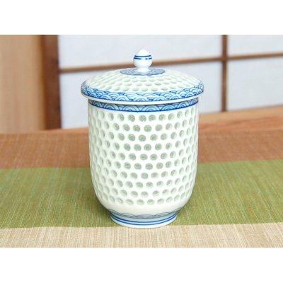 Photo2: Suisho Seikainami (Large) Japanese green tea cup (wooden box)