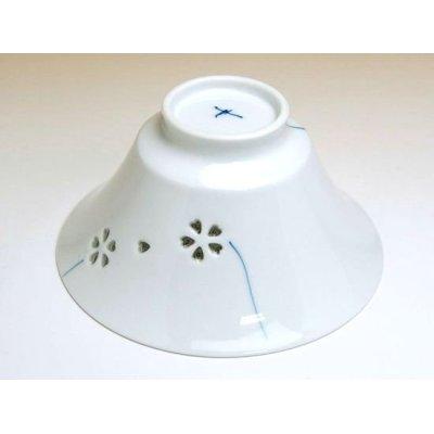 Photo3: Suisyo hana asobi (Blue) rice bowl