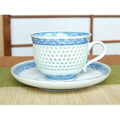 Photo2: Suisho seikainami Cup and saucer