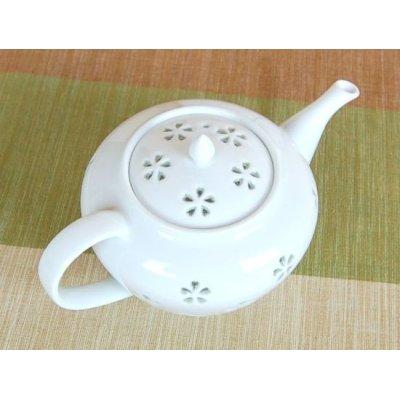 Photo3: Suisho hanazume Tea set (5 cups & 1 pot)