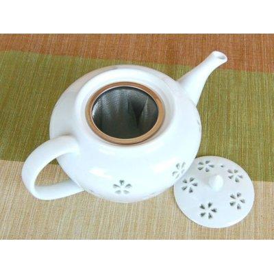 Photo4: Suisho hanazume Tea set (5 cups & 1 pot)