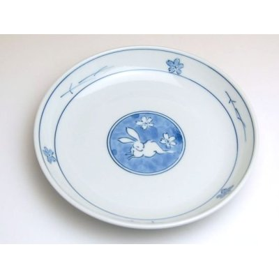Photo2: Yume usagi rabbit Medium plate (15.3cm)