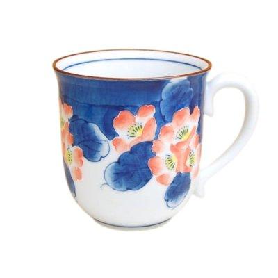 [Made in Japan] Hana tsudoi (Red) mug