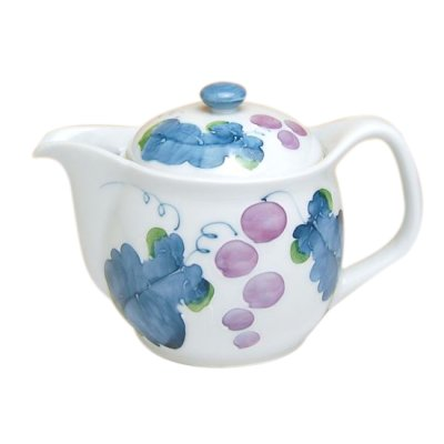 [Made in Japan] Muscat grape Teapot