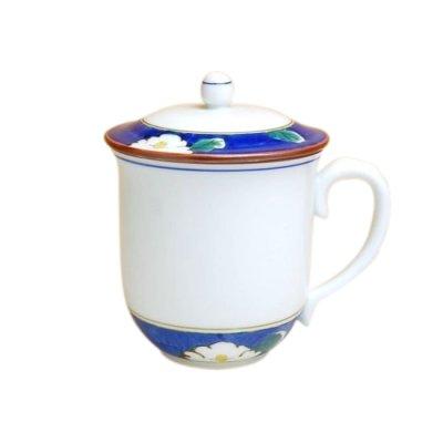 [Made in Japan] Sara with cover (Blue) mug