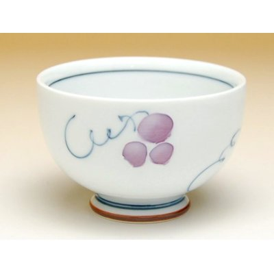 Photo3: Muscat grapeJapanese green tea cup