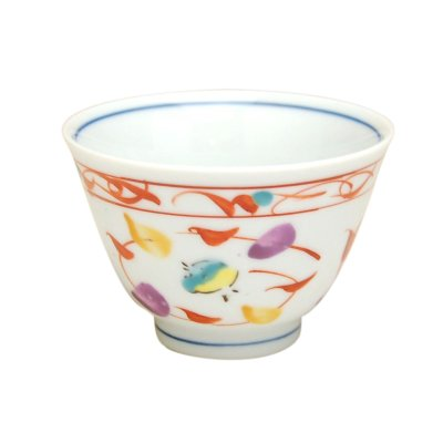 [Made in Japan] Nishiki chidori Japanese green tea cup