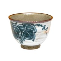 Kohiki budou grape Japanese green tea cup