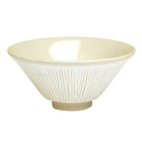 Senbori (White) rice bowl