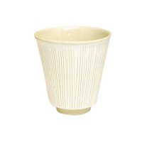 Senbori (White) Japanese green tea cup