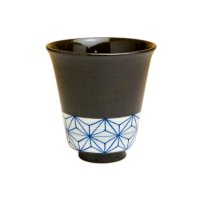 Ema (Blue) Japanese green tea cup