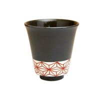 Ema (Red) Japanese green tea cup
