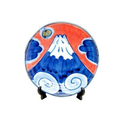 [Made in Japan] Mt. Fuji Small ornamental plate
