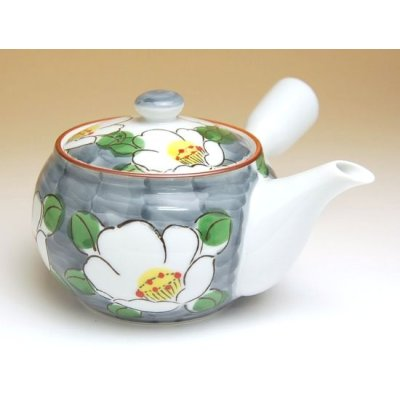 Photo2: Dami shirohana Tea set (5 cups & 1 pot)