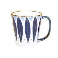 Petal (Blue) big mug