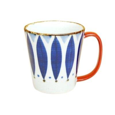 [Made in Japan] Petal (Red) big mug