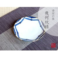 Edo kika-mon Medium plate (15cm)