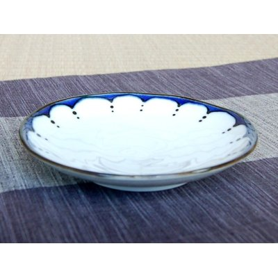 Photo2: Edo hana ten-mon Medium plate (15cm)
